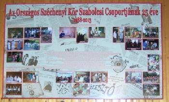 25 éves az Országos Széchenyi Kör Szabolcsi csoportja