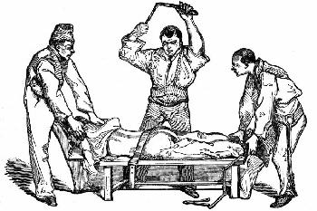 Testi büntetés 1848-ban