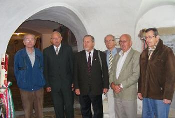 A soproni öregdiákok megmlékezése