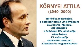 Tisztelgés dr. Környei Attila 75-dik születési évfordulóján