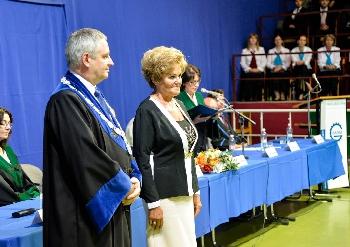 Dr. Kőrösi Mária egyetemi elismerése-2016