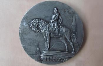 1941-es Széchenyi emlékérem Kolozsvárról