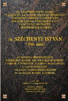 Széchenyi emléktábla Pozsonyban
