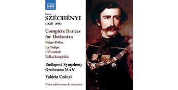Megjelent a zenekari Széchényi Imre CD a Naxosnál