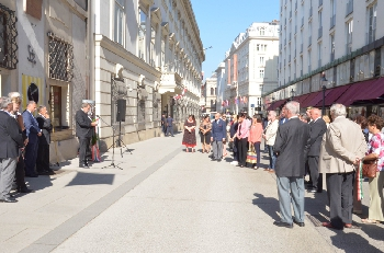 Bécsi koszorúzás 2018