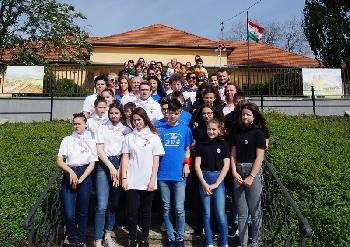Széchenyi iskolák megyei találkozója Fertőszéplakon